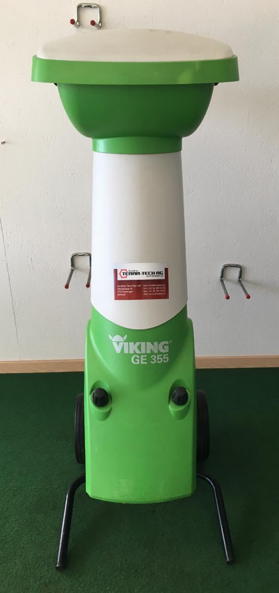 Viking GE 355_heck
